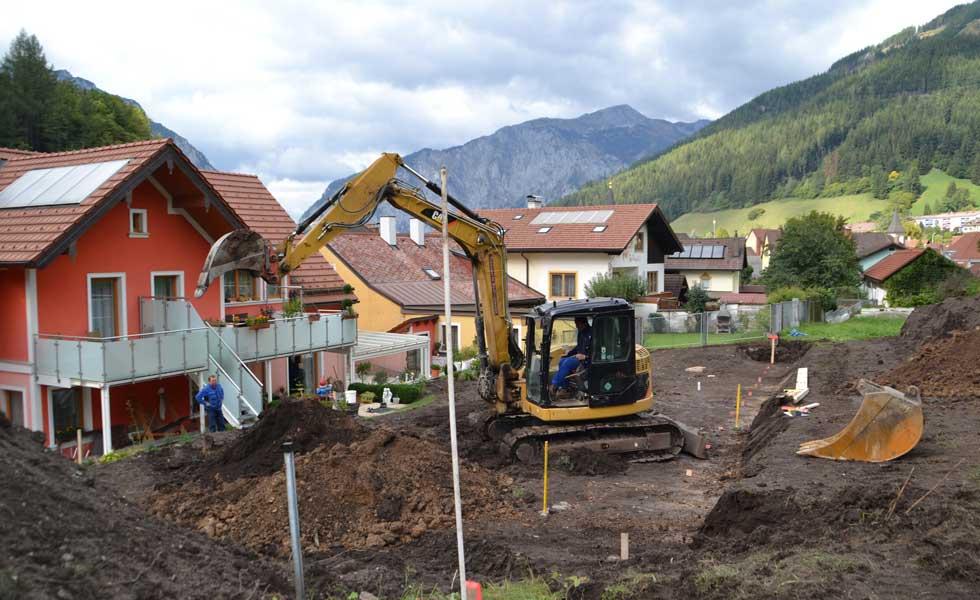Gartengestaltung Bauunternehmen Radlingmaier Eisenerz, Leoben, Liezen, Murtal