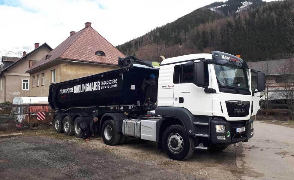 Radlingmaier Transportunternehmen - Thermomulde in Leoben, Liezen und Eisenerz