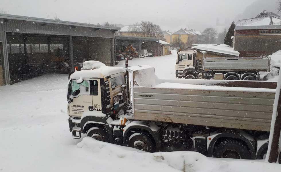 Radlingmaier Transportunternehmen - Winterdienst in Leoben, Liezen und Eisenerz